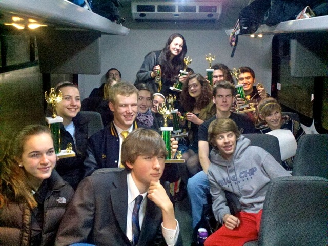 The Oakwood debate team returns home from another successful tournament hosted by Glen Oaks High School.