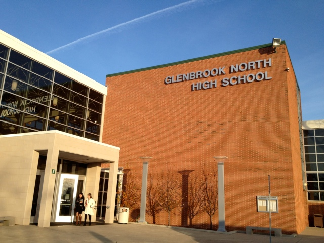 Glenbrooks high school just out of Chicago, IL, where the tournament took place. Glenbrooks is a notable tournament for debaters on the national circuit.Photo Credit: Kate Gordon