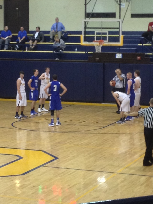 The Jacks were in the game all the way until the 4th quarter. The Vikings hit their free-throws down the stretch and the Jacks couldn't hold on.