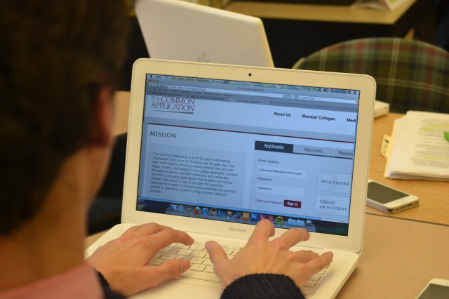 Students are finding common errors and problems when using the common application.