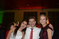 "Tahira Demnika (10), Nathan Reynolds (11), and Claire Hemmelgarn (10) enjoyed each other's company and danced the night away. Reynolds commented, ""The best part about homecoming was just being goofy and dancing around with friends."""