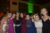 "Sophomores Agatha Shafer, Lydia Beyer, Casey Zepernick, Allison Kordik, Myra Hamilton, and Grace Hutton enjoyed the dance together. Hotton described the dance, ""[At homecoming ] you don't need a mister when you can dance with your sisters."""