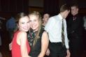 Senior Sophie Tokar poses with sophomore Sarah Rosenbaum.